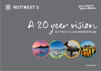 Cover of the Rottnest Island Master Plan